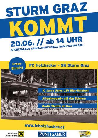 Flyer (c) http://www.fcholzhacker.at/spiel-der-spiele/