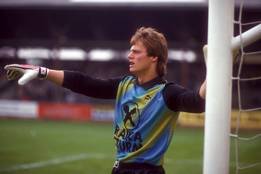 Auch Supergoalie Otto Konrad blamierte sich mit Sturm zweimal im Cup (c) Johann Dietrich