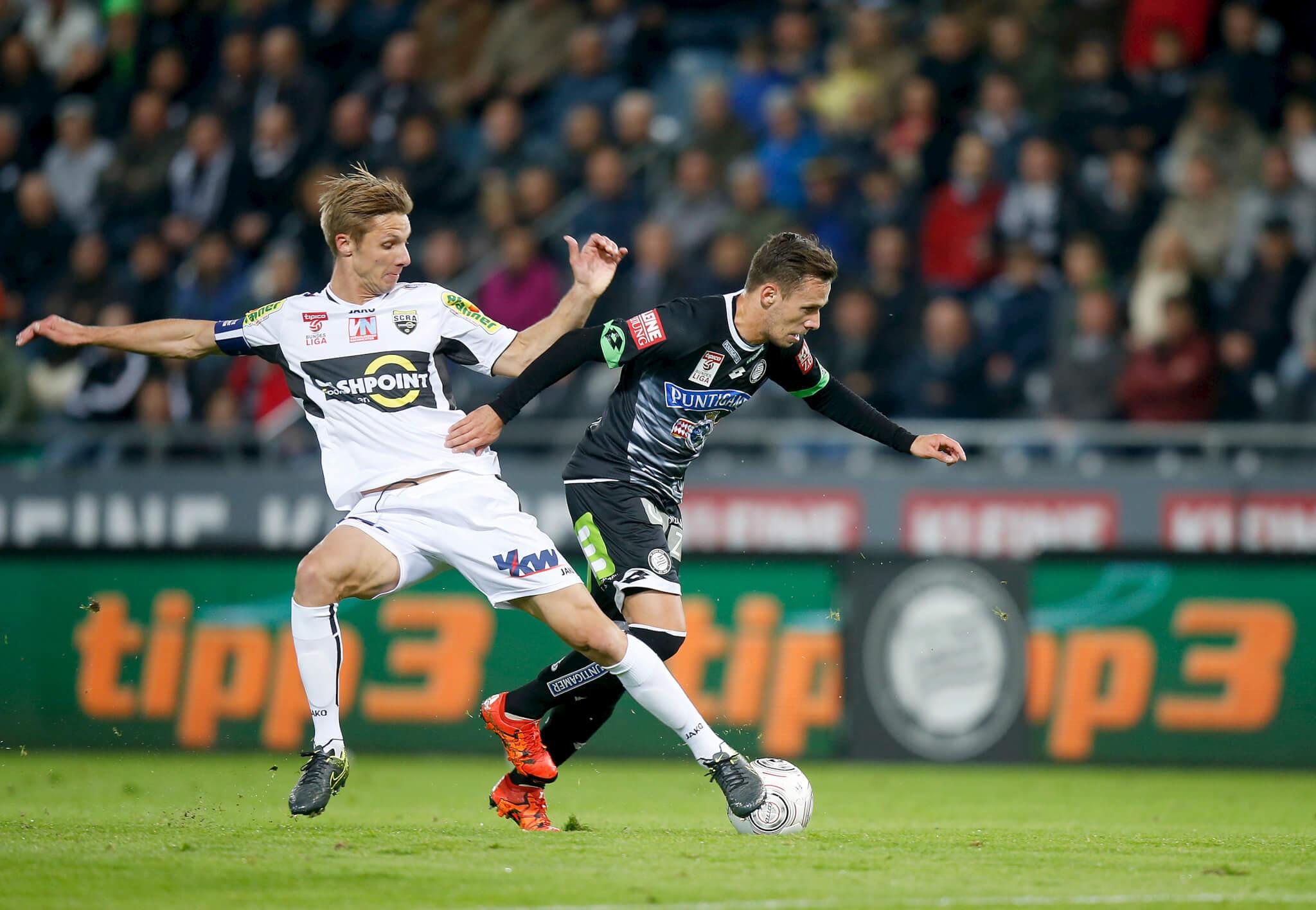 In der Hinrunde gewannen die Grazer in Liebenau mit 3:1 (Foto: © GEPA pictures/ tipp3)