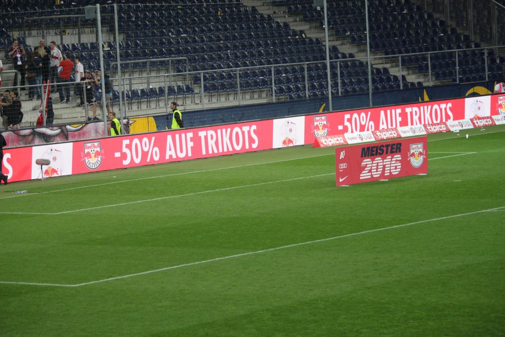 (c) SturmNetz.at - Die Feierlichkeiten im Stadion waren schnell vorbei