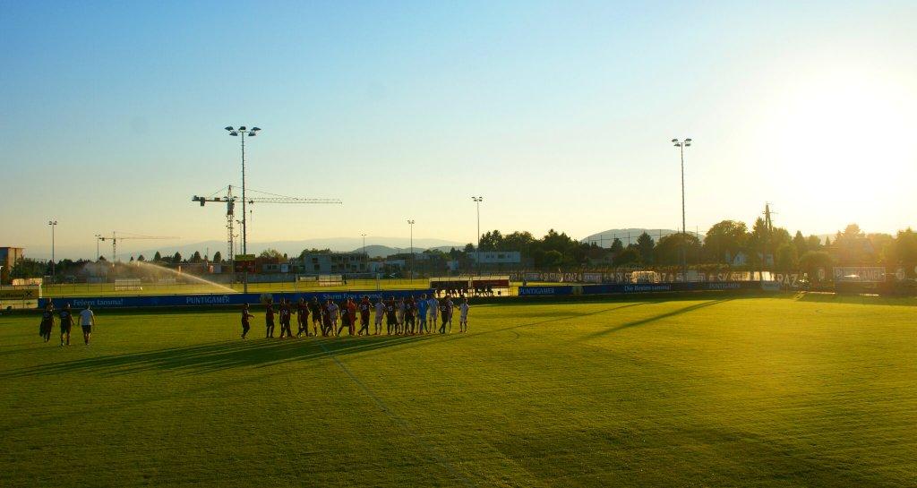 (c) SturmNetz.at - Bestes Bedingungen, Fußballwetter wie es sein sollte