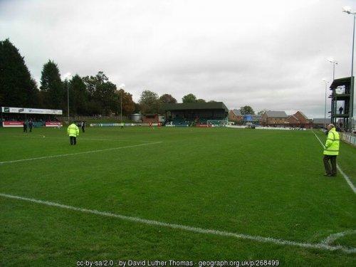 Der Recreation Ground in Llansantffraid