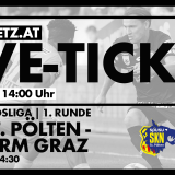 Live-Ticker: SKN St. Pölten vs. SK Sturm Graz